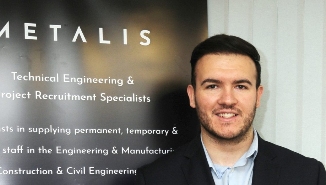 Luke from Metalis engineering recruitment